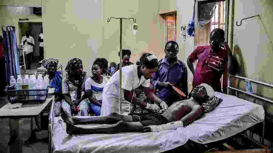 A África Subsaariana registrou a primeira morte devido ao coronavírus ontem - AFP