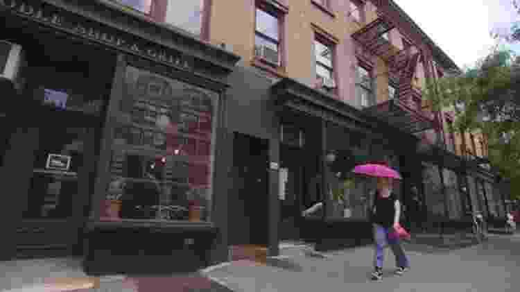 A última residência de Murray Hall foi um apartamento no Greenwich Village, em Nova York - BBC