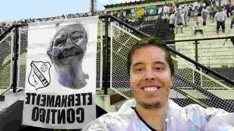 Câmera de selfie da tela interna do Galaxy Fold, celular da Samsung - Gabriel Francisco Ribeiro/UOL - Gabriel Francisco Ribeiro/UOL
