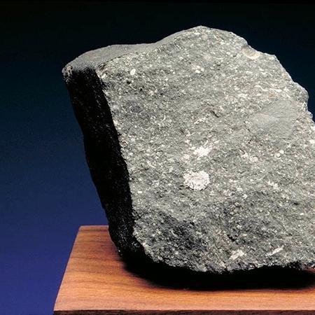 Meteorito Allende, que caiu no México em 1969 - Cortesia da Sociedade Planetária