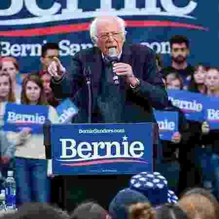 Sanders conseguiu apertada vitória na primária democrata de New Hampshire - Getty Images