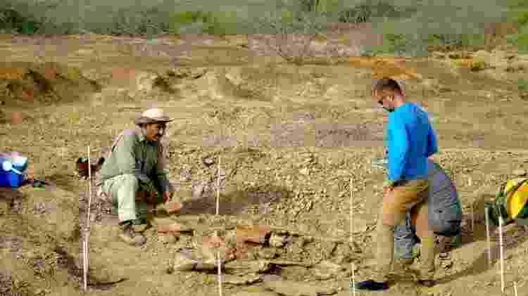 Um dos fósseis foi encontrado pelos paleontologistas na região de Urumaco, na Venezuela - Reuters