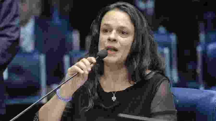 Eleita com recorde de votos pelo PSL, Janaina foi umas das principais apoiadoras de Bolsonaro durante a campanha eleitoral - Pedro França/Agência Senado