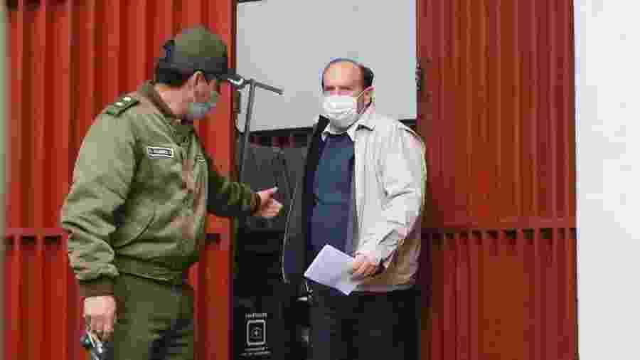 Marcelo Navajas, ex-ministro da Saúde da Bolívia, é preso - Gaston Brito Miserocchi /Getty Images