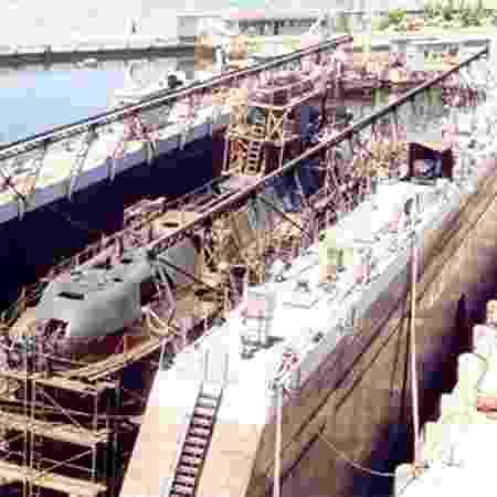 Emgepron e Arsenal da Marinha gerenciam reparos em submarinos no Rio  - Emgepron/Divulgação