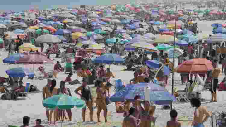 Movimentação na praia de Ipanema -  LUIZ GOMES/ESTADÃO CONTEÚDO -  LUIZ GOMES/ESTADÃO CONTEÚDO