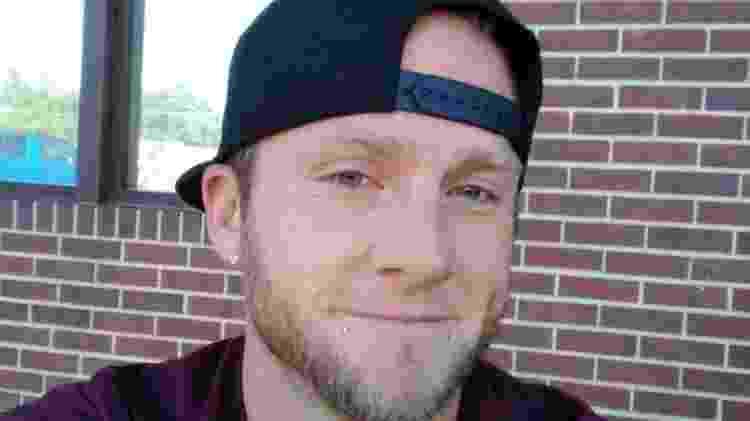 JoshuaLockard, de 33 anos, foi assassinado e teve parte do corpo distribuído em duas malas - Divulgação/Polícia de Denver - Divulgação/Polícia de Denver