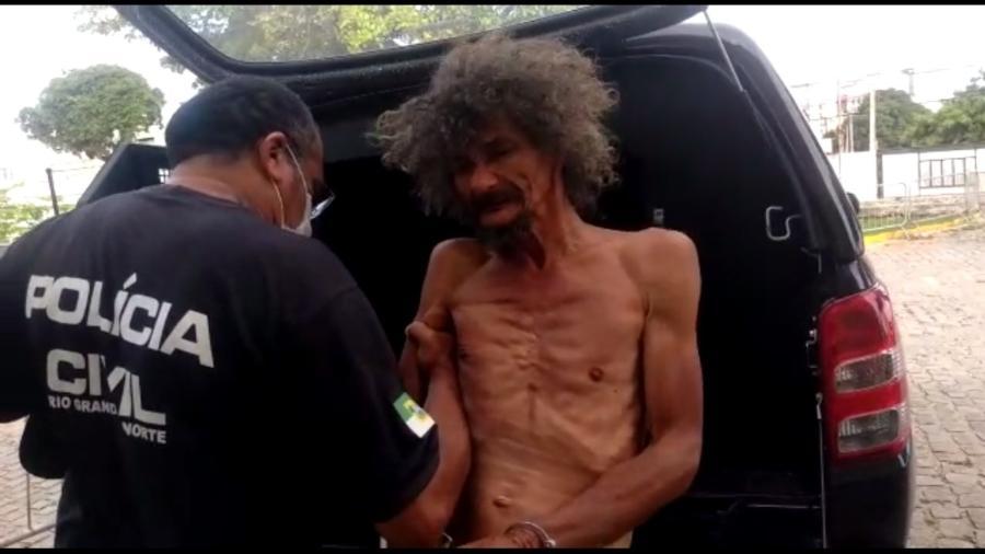 Digitais do homem detido (foto) não correspondiam às de Aluízio Farias Batista - Via Certa Natal/Reprodução