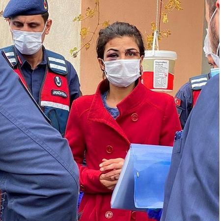 A turca Melek Ipek, que matou o marido que a estava agredindo - Reprodução