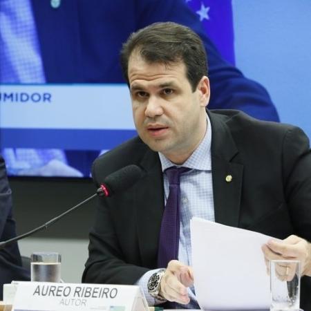 O deputado Aureo Ribeiro (Solidariedade-RJ)  - Luis Macedo/Câmara dos Deputados