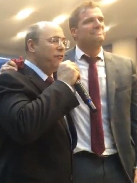 Witzel participa de culto da Assembleia de Deus, no Rio - Reprodução/Facebook/ADUD