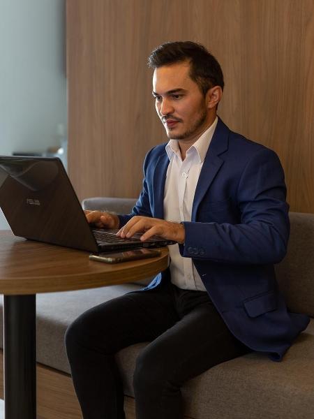 Enzo Ribeiro começou a investir em criptomoedas há um ano, perdeu dinheiro, mas esperou a recuperação - Arquivo Pessoal