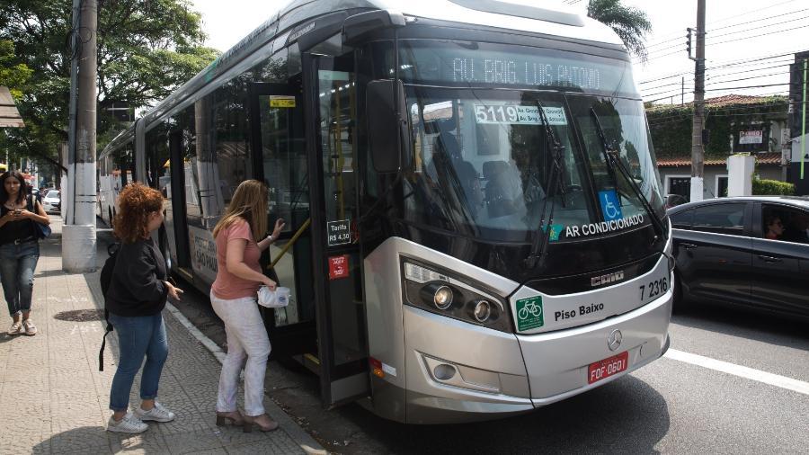 Prefeitura suspendeu multas a empresas de ônibus na pandemia  - Rubens Cavallari/Folhapress