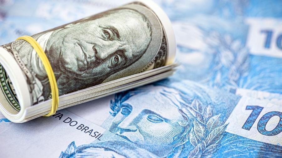Presidente do Banco Central, Roberto Campos Neto, disse que a depreciação do real neste ano está na média - iStock