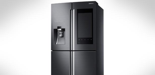 Family Hub, geladeira inteligente da Samsung apresentada na CES 2016