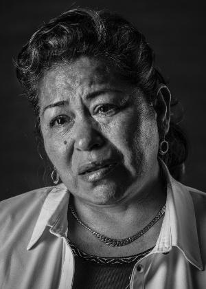 Maria Patricia Romero Hernandez, abusada por policiais durante um protesto em 2006
