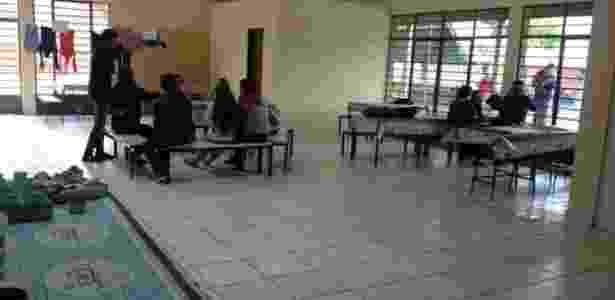 13.out.2016 - Escola ocupada por estudantes no Paraná - Giovan Valiati/RPC - Giovan Valiati/RPC