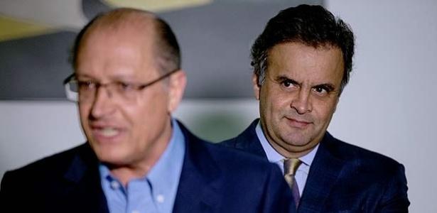 Alckmin e Aécio disputam o protagonismo no PSDB visando às eleições presidenciais