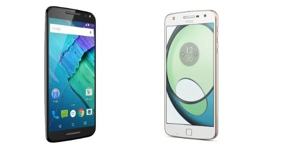 Moto X Style (2015) e Moto Z Play (2016)