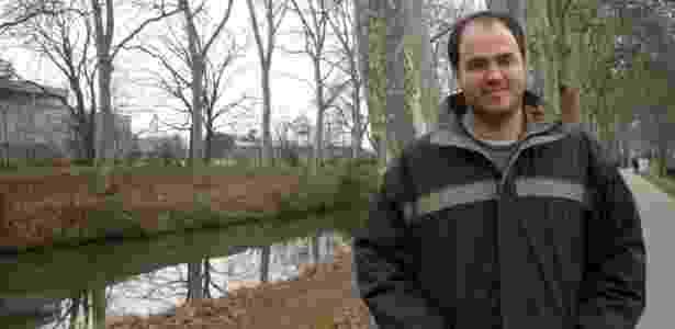 25.abr.2017 - Lucas Fonseca durante mestrado em Toulouse, na França - Arquivo Pessoal - Arquivo Pessoal