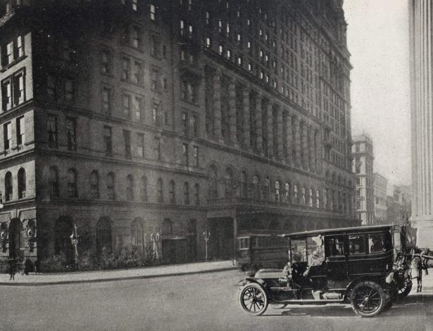 O Waldorf Astoria em 1911