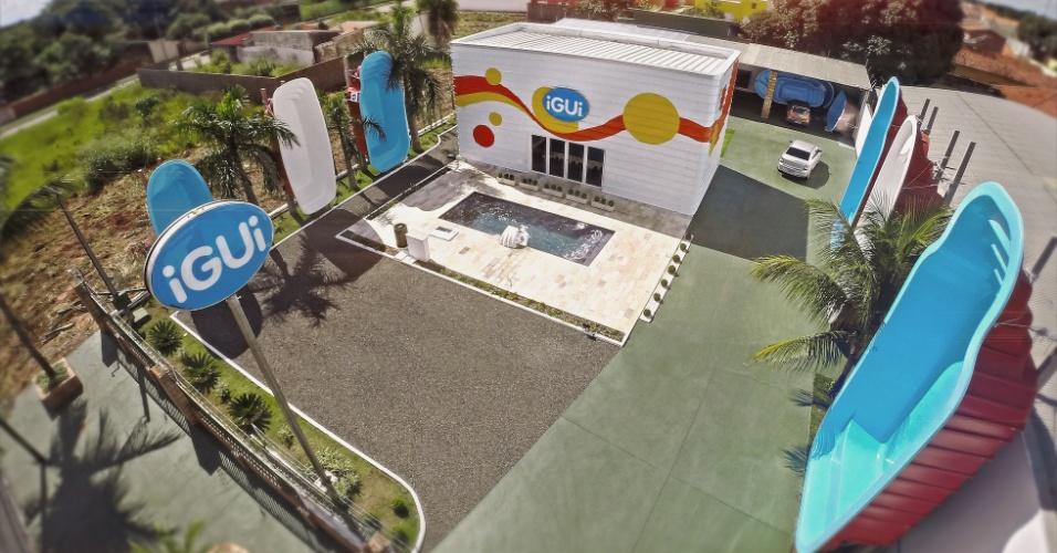 iGUi, franquia de venda de piscinas