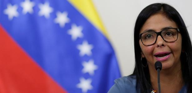 Líder da Comissão da Verdade da Venezuela, Delcy Rodríguez