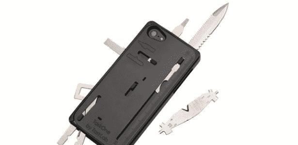 Alarme, choque e spray de pimenta: conheça as capas de celular anti-furto 3 - Divulgação - Divulgação