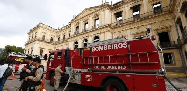 O incêndio do Museu Nacional, no Rio de Janeiro, destruiu a maior parte de um acervo com mais de 20 milhões de peças - Tânia Rego/Agência Brasil