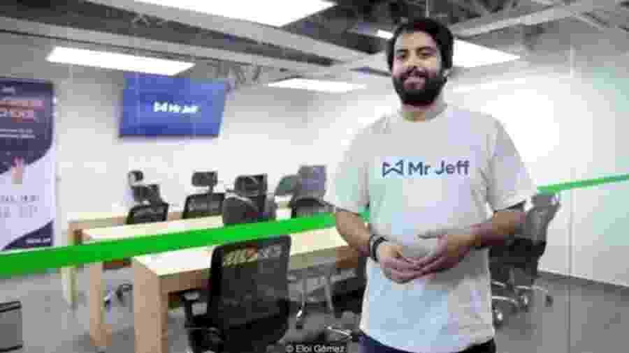 Diante das perspectivas desanimadoras de emprego, Eloi Gómez fundou a startup Mr Jeff - Eloi Gómez