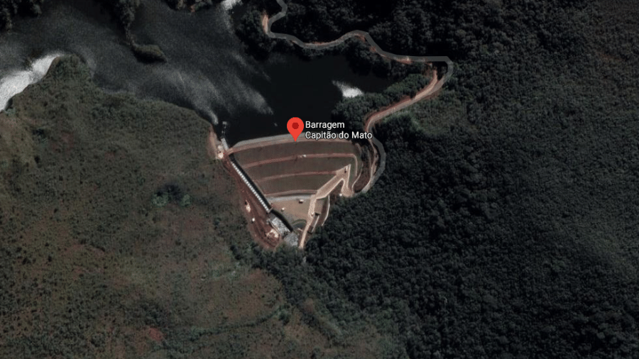 A Vale ressaltou não ver riscos à estrutura - Reprodução/Google Maps