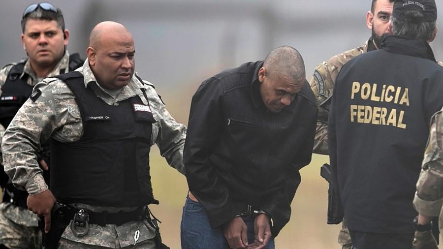 Adélio Bispo de Oliveira é transferido pela Polícia Federal para prisão. Homem que tentou matar Bolsonaro revela detalhes de sua psique em depoimentos à Polícia Federal e psiquiatras. UOL teve acesso aos documentos - RICARDO MORAES