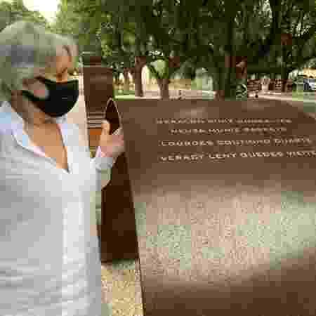A mãe da aposentada Maria Celina Muniz Barreto, 68, é uma das vítimas da covid-19 - Divulgação - Divulgação