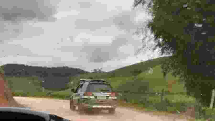 Suspeito foi preso na zona rural de Juiz de Fora; crime ocorreu diante da filha do casal - Polícia Civil de MG/Divulgação