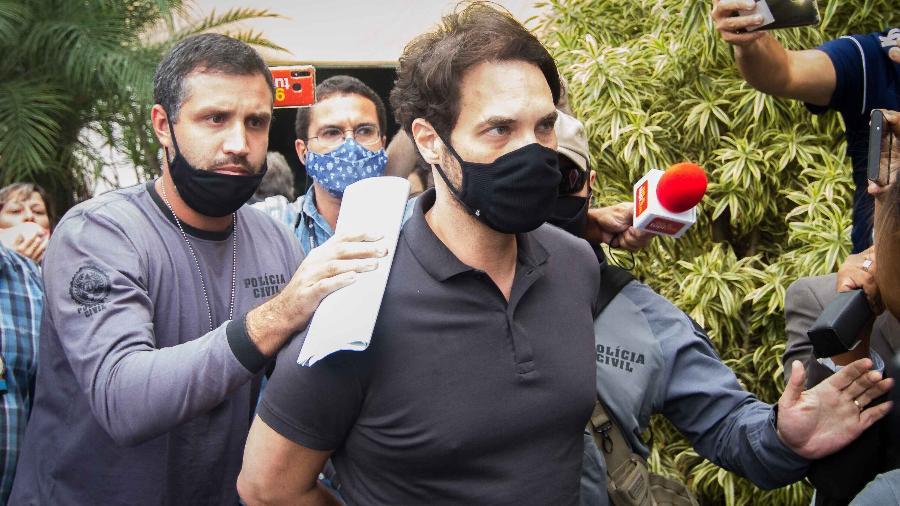 8.abr.2021 - Dr. Jairinho foi preso temporariamente no Rio de Janeiro - Vitor Brugger/Estadão Conteúdo