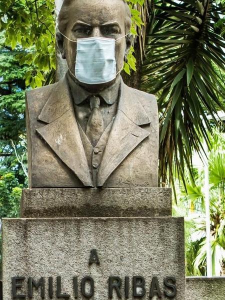 Emílio Ribas foi um dos nomes pioneiros no combate às doenças infecciosas - Marcos Alonso/Instituto de Infectologia Emílio Ribas