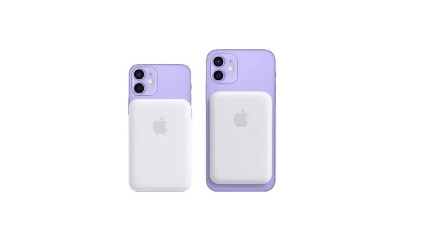Magsafe no iPhone 12 roxo - Reprodução