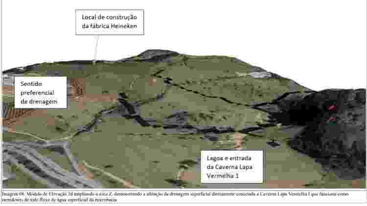 Mapa na nota do ICMBIo mostra a localização da construção da fábrica - Reprodução/ICMBio - Reprodução/ICMBio