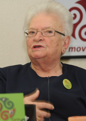 A deputada federal Luiza Erundina