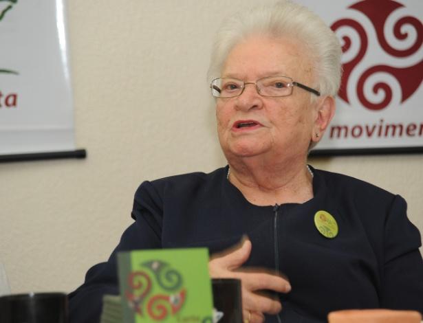 A deputada federal Luiza Erundina (PSB/SP) lançou a campanha para a criação de um novo partido político, o Raiz, durante o Fórum Social Mundial em Porto Alegre