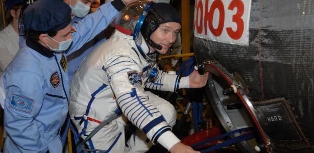 Thomas Pesquet está terminando uma temporada de 6 meses na ISS