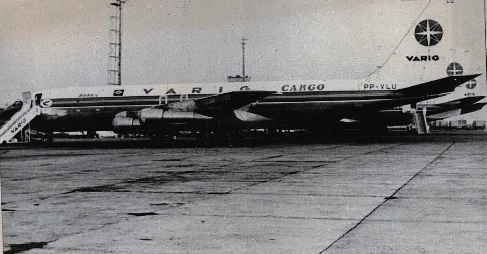 Boeing 707 de prefixo PP-VLU desapareceu no Pacífico