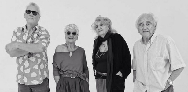 Penna Prearo, Nair Benedicto, Maureen Bisilliat e German Lorca (da esq. pra dir.)