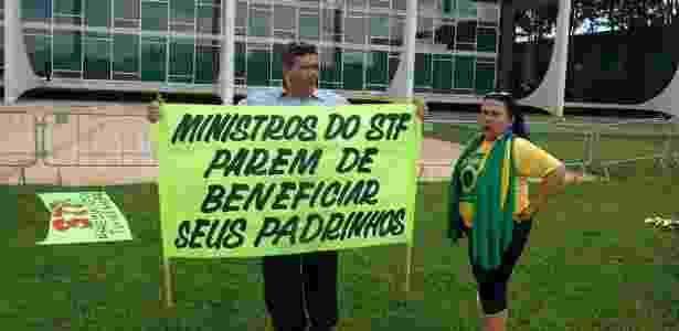 protesto T+STF - Gustavo Maia/UOL - Gustavo Maia/UOL