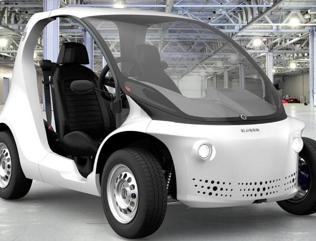 Li veículo elétrico fabricado pela Mobilis