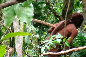 Único sobrevivente de etnia, índio vive isolado há 22 anos na Amazônia (Foto: Acervo/Funai)