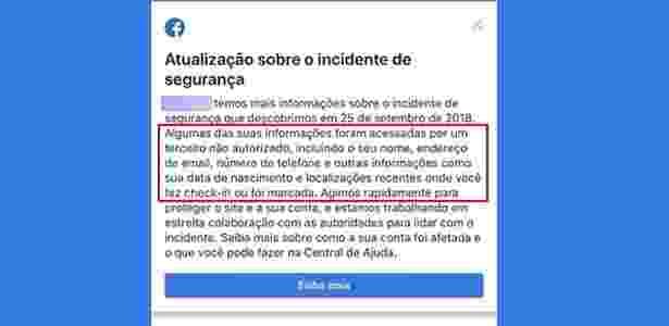 Data de nascimento, telefone, email e localização de vários usuários foram roubados - UOL