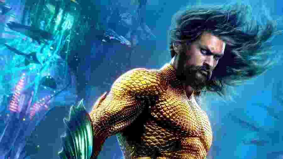 """Pôster de """"Aquaman"""", previsto para dezembro de 2018 - Reprodução"""