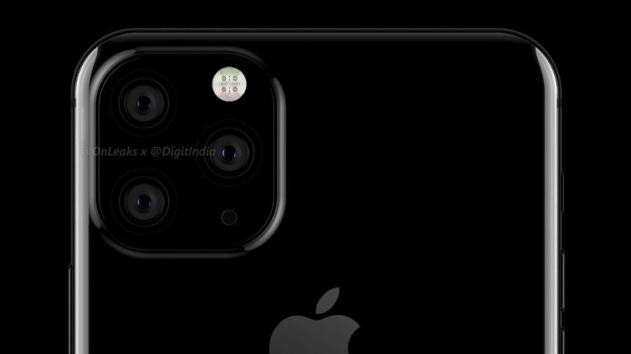 Suposta imagem do iPhone XI, que ainda não foi oficializado pela Apple - Reprodução/Twitter @OnLeaks