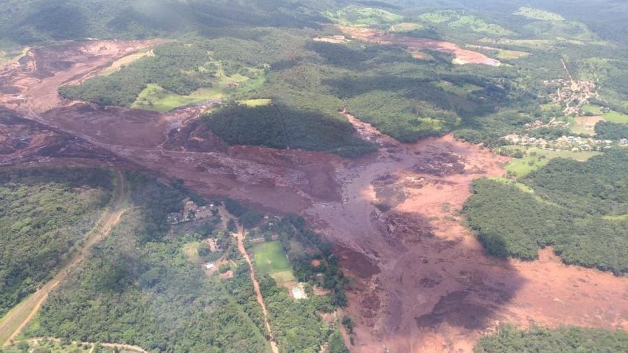 O rompimento de uma barragem da Vale em Brumadinho causou 270 mortes, além de ter promovido destruição de comunidades e devastação ambiental - Arcanjo Major Carla/Divulgação